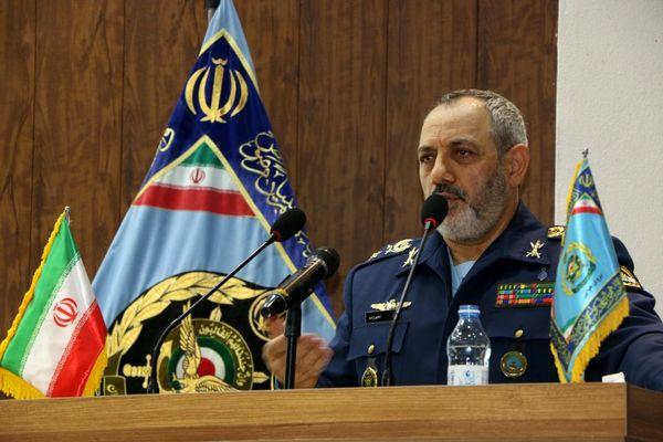 تاکید سرتیپ نصیرزاده بر اشراف کامل نیروی هوایی بر منطقه