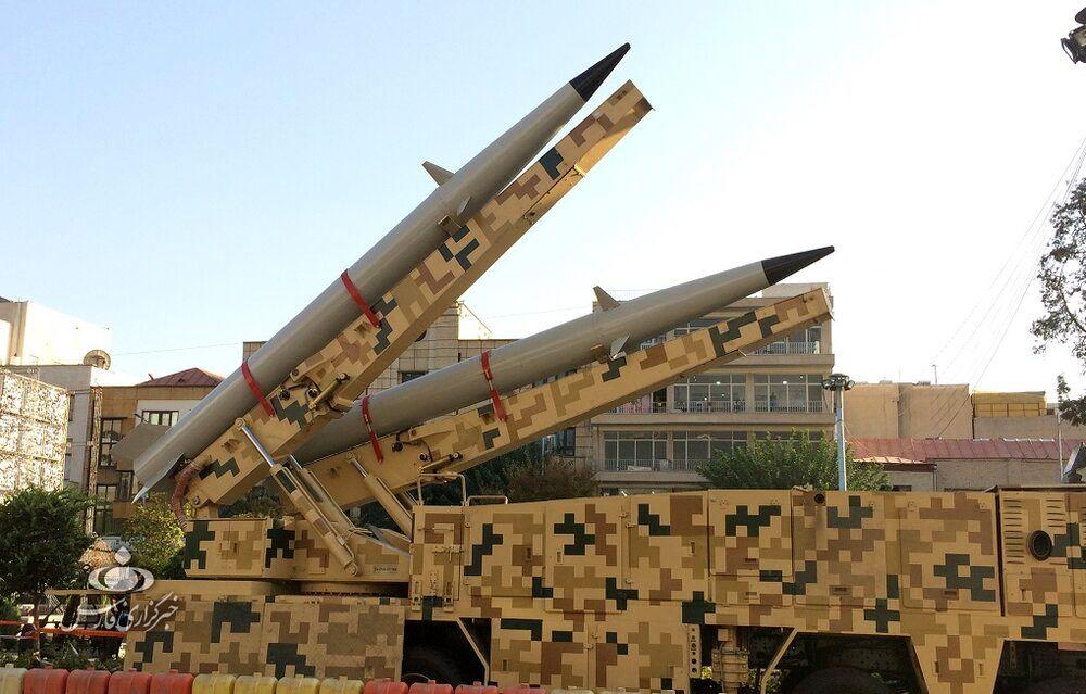 لانچر دو فروندی موشک «رعد-۵۰۰» هوافضای سپاه