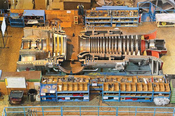 توان تولید انواع توربینهای نیروگاهی در کشور