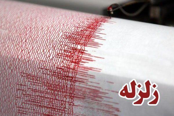 وقوع زلزله در مراوه تپه