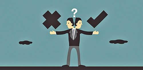 خطاهای تصمیمگیری مدیران کسب و کار
