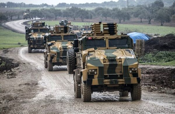 ترکیه، سوریه را بمباران کرد