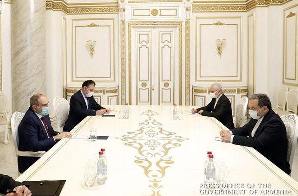 عراقچی با نخستوزیر ارمنستان دیدار کرد