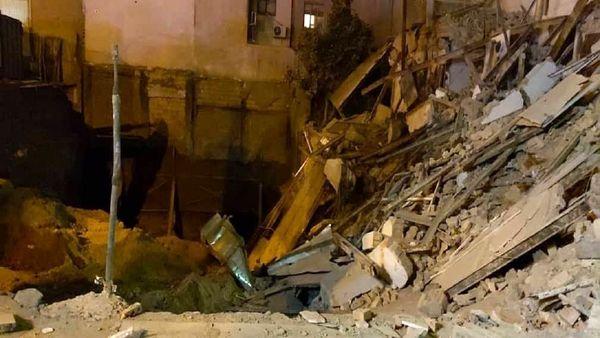 جزئیات تخریب یک ساختمان ۳ طبقه در تهران