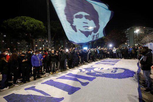 وداع با مارادونا در کاخ ریاست جمهوری+ عکس
