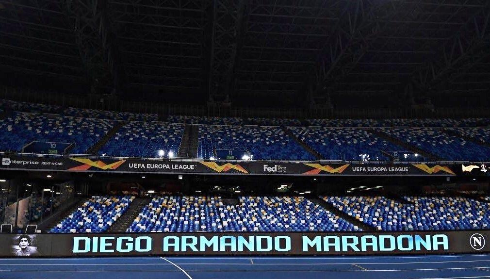 تیم فوتبال ناپولی ایتالیا , فوتبال اروپا , دیگو آرماندو مارادونا ,