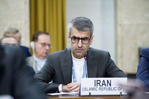 نطق نماینده ایران در ژنو علیه اسرائیل