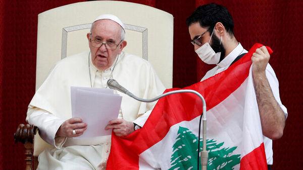 سفر پاپ به لبنان و سودان جنوبی در آیندهای نزدیک