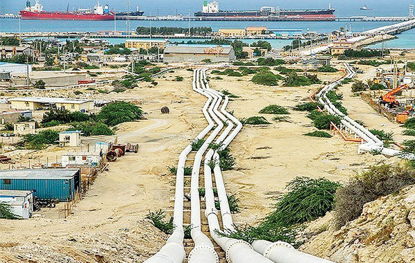 اولین محموله نفتخام ایران از پایانه جاسک صادر میشود