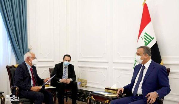 نخست وزیر عراق با جوزپ بورل دیدار کرد
