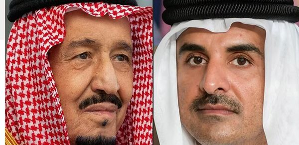 پادشاه سعودی برای امیر قطر دعوت نامه فرستاد