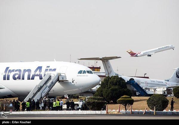 جزئیات فرود اضطراری پرواز تهران - پاریس در تبریز