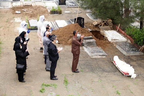 وضعیت بحرانی و وحشتناک بهشت زهرای تهران