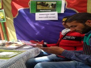 کمک مردم پاکستان برای سیلزدگان ایران