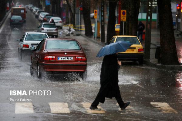هشدار هواشناسی نسبت به بارش باران در بیشتر مناطق کشور