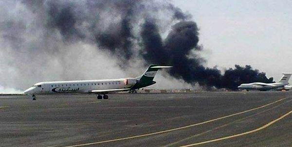 آغاز بهانهجویی سعودیها برای بمباران فرودگاه صنعاء