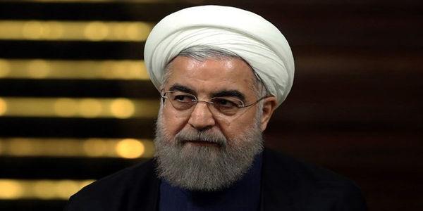 توئیت معنادار حسن روحانی با هشتگ تدبیر شجاعانه