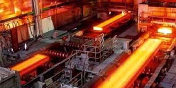 رشد 4.5 درصدی تولید فولاد خام ایران