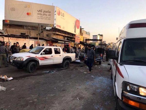 جزئیات انفجارهای انتحاری امروز بغداد