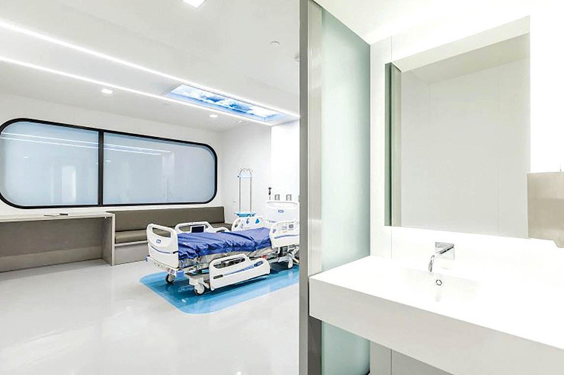 اتاق هوشمند بیمارستانی