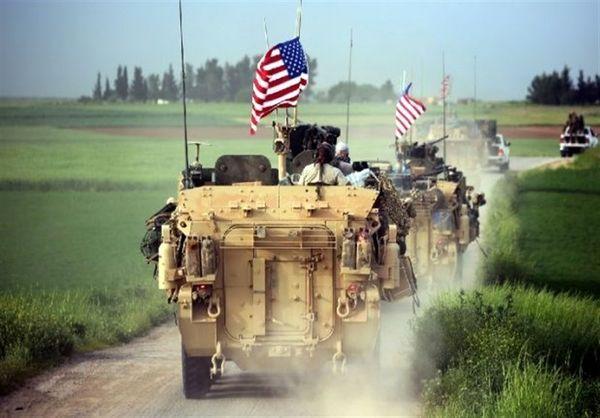خروج نظامیان آمریکایی از سوریه به سمت عراق
