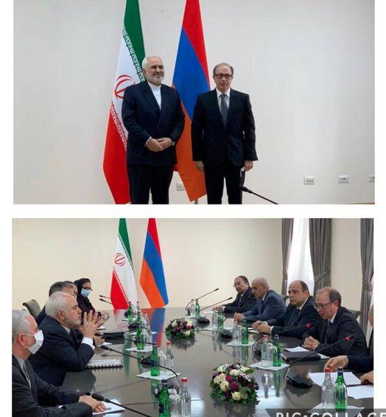 ارزیابی مثبت ظریف از دیدارهایش در ارمنستان