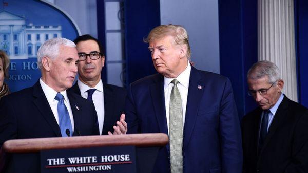 شدیدتر شدن اختلافات ترامپ و پنس