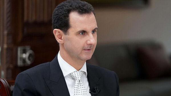 پیام بشار اسد به امیر جدید کویت