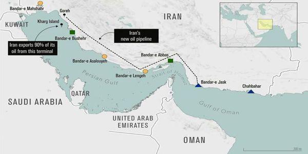 باند دوم صادرات نفت ایران آماده شد