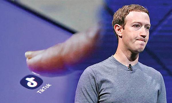 نگرانی فیسبوک از اوج گرفتن تیک تاک