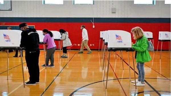 مردهها هم در انتخابات آمریکا رای دادهاند