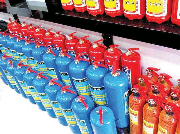بازار گرم کپسولهای آتشنشانی