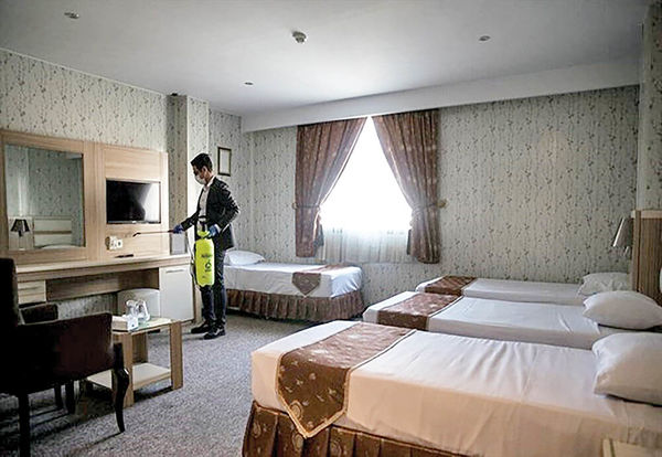 هتلهای خالی در وضعیت اضطراری