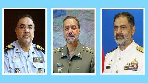 در دیدار فرماندهان نیروی هوایی و دریایی ارتش با وزیر دفاع چه گذشت؟