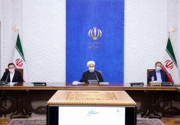 جلسه ستاد هماهنگی اقتصادی با حضور روحانی