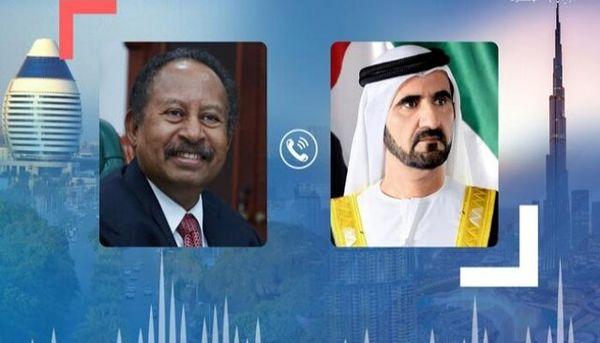 محور گفتگوی تلفنی حاکم دبی با نخست وزیر سودان