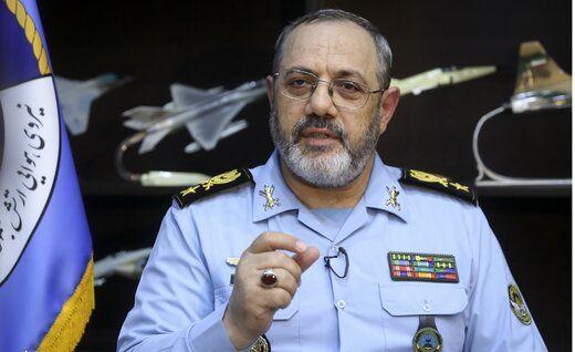 فرمانده نیروی هوایی ارتش: امروز امنیت و بازدارندگی به وضوع قابل مشاهده است
