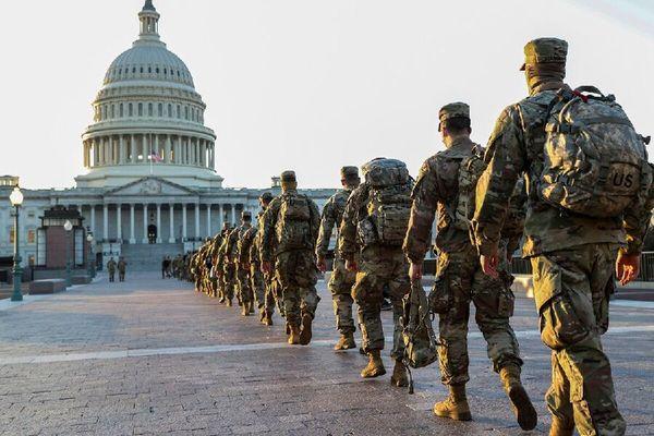 سوابق گارد ملی مستقر در واشنگتن بررسی میشود