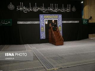 عزاداری رهبری در شب تاسوعا