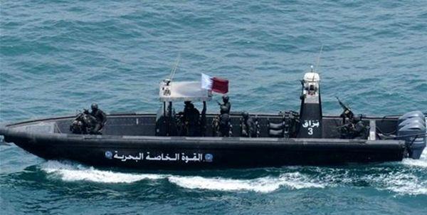 قطر 2 قایق گارد ساحلی بحرین را توقیف کرد