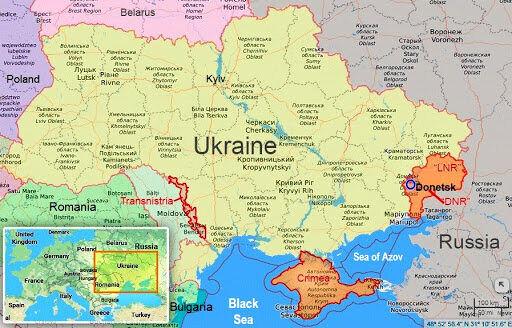 هشدار کرملین نسبت به درگیریها در شرق اوکراین