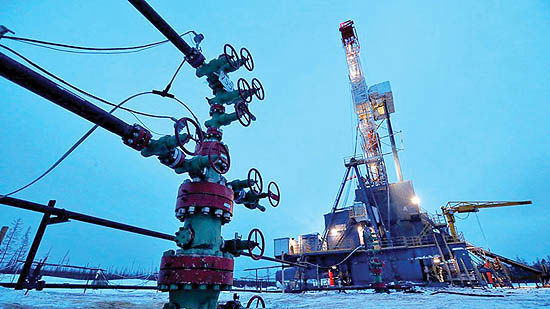 تولید سالانه نفت روسیه در کف 9 ساله