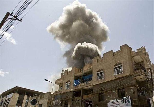 بمباران سه استان یمن توسط ائتلاف سعودی