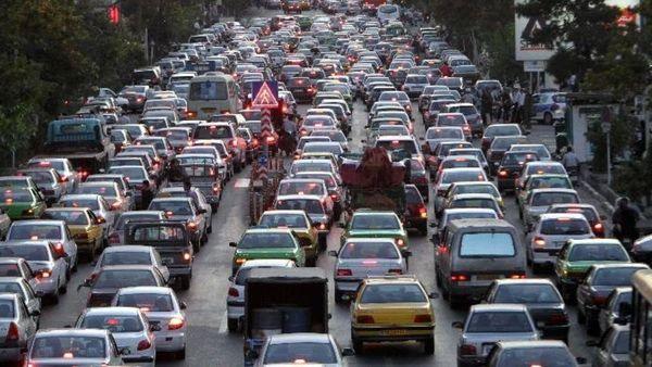 ترافیک سنگین در تمام معابر پایتخت