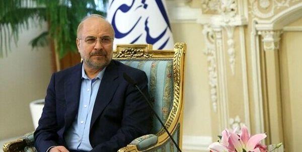 قالیباف: آمریکا آفت صلح و ثبات عراق و منطقه است