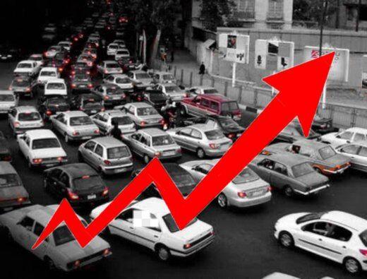 افزایش قیمت خودروها در بازار تشدید یافت+جدول