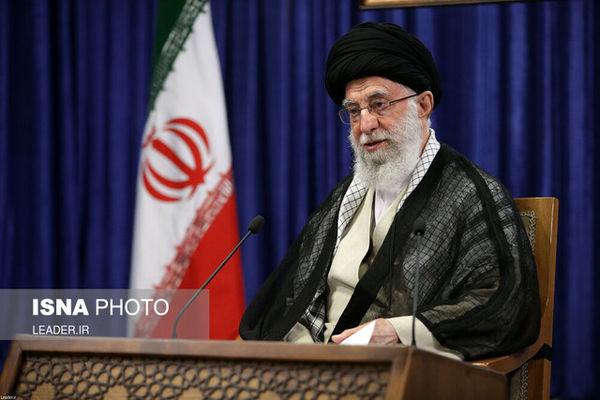 سخنرانی تلویزیونی رهبر انقلاب به مناسبت ۱۴ خرداد