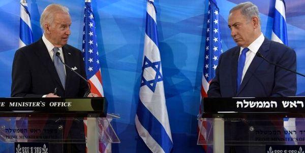 نتانیاهو: از بایدن ناراحت نیستم