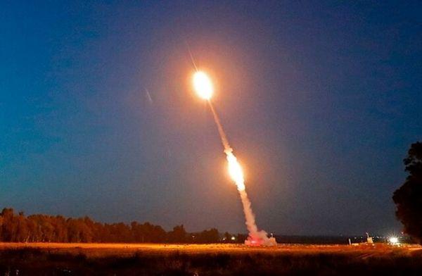110 موشک به سوی اسرائیل شلیک شد