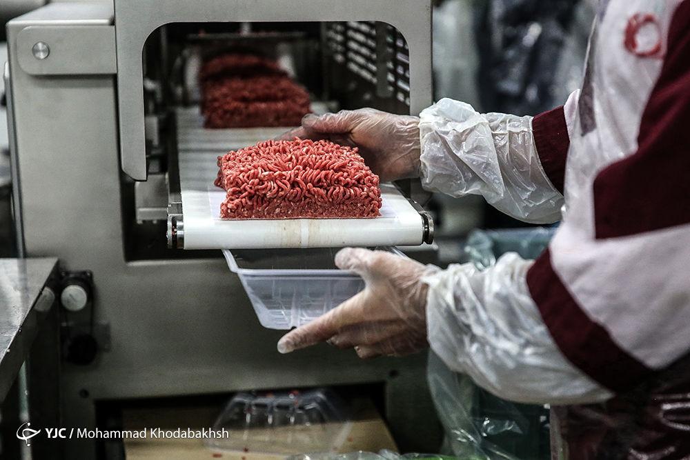 گوشت قرمز چرخ کرده